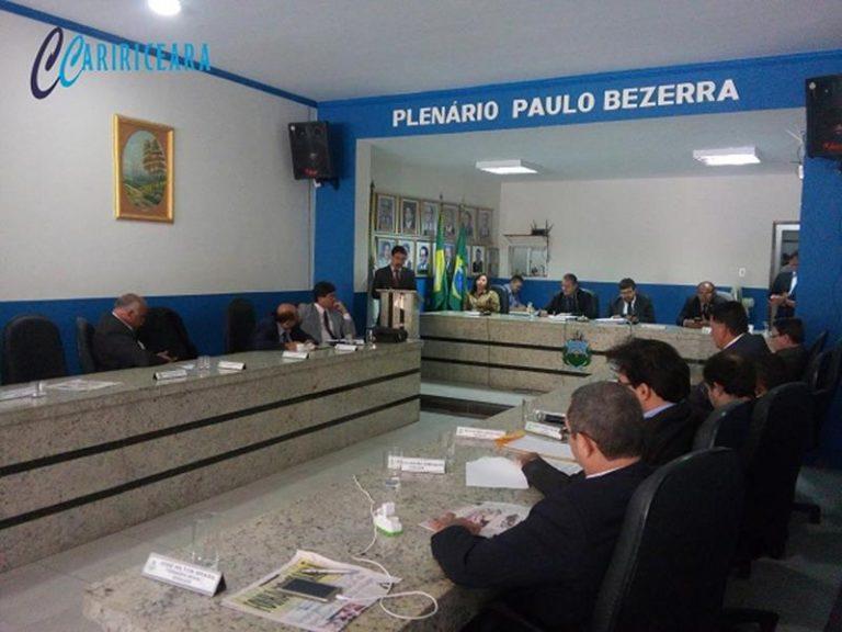 CÂMARA DO CRATO Sessão desta terça promoveu reflexões sobre a violência urbana