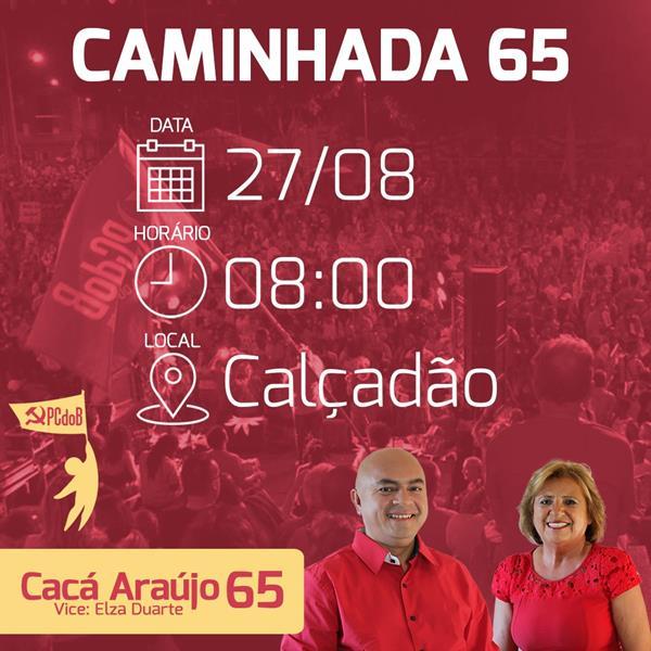 PCdoB CRATO 65 Sabado