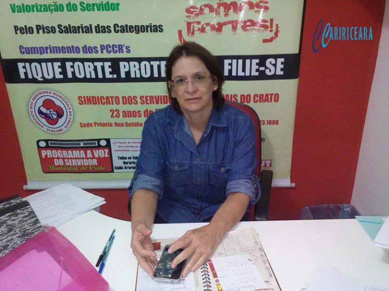 SINDSCRATO – Sindicato dos Servidores Municipais do Crato convoca professores municipais