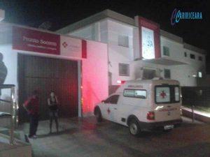 Pai e filho sao alvejados a bala no Bairro Seminario em Crato. Uma das vítimas sofreu 09 tiros. FT Jota Lopes