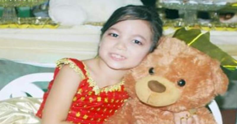 Rakelly Matias, de oito anos, estava desaparecida há três dias. Uma pessoa foi presa, inicialmente, por ocultação de cadáver.