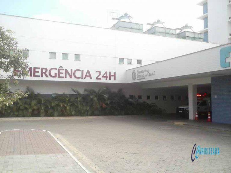 Criança de 02 anos dá entrada no HRC em estado grave lesionada  bala na cidade do Crato. Foto_Caririceara.com