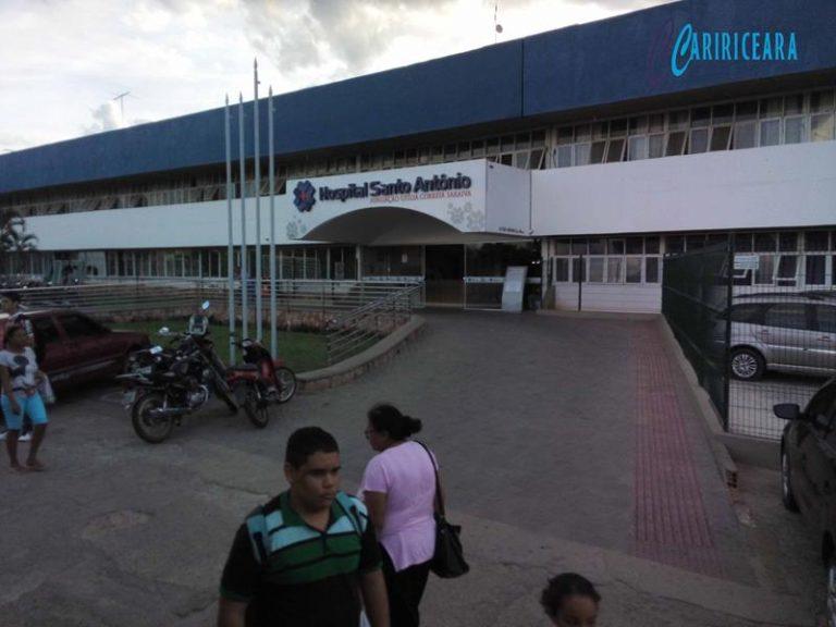 Adolescente morre no hospital Santo Antonio de Barbalha vítima de acidente de moto ocorrido em Salitre.