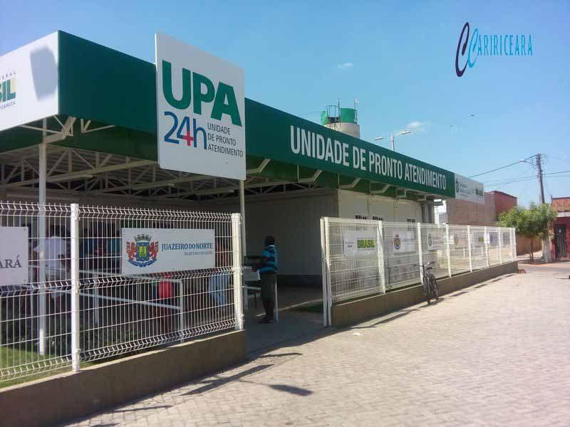 Unidade de Pronto Atendimento (UPA) de Juazeiro do Norte  localizada no bairro Limoeiro. Foto: Jota Lopes/Agência Caririceara.com