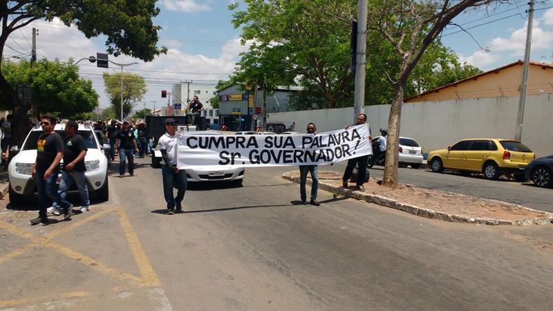 manifestação na Delegacia Regional d Juazeiro do Norte (1)