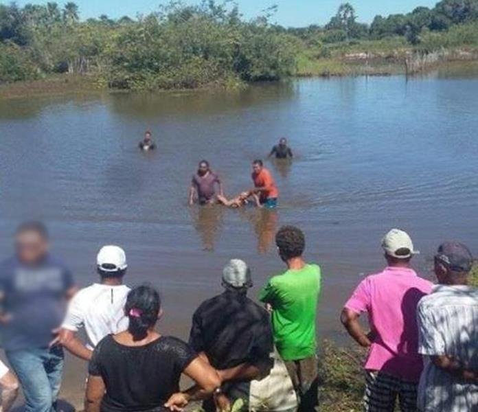 Criança de 10 anos morre afogada em Salitre.