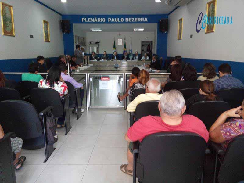 Câmara Municipal encerra período legislativo 2016 Foto Jota Lopes Agência Caririceara.com