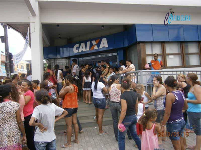 AGÊNCIA DA CAIXA ECONOMICA FEDEAL NO CENTRO DO CRATO (CE). FOTO: JOTA LOPES/AGÊNCIA CARIRICEARA.COM
