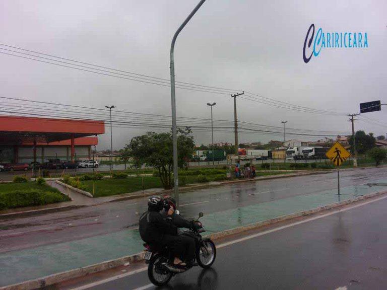 Onze cidades da Região do Cariri registram chuvas, diz Funceme
