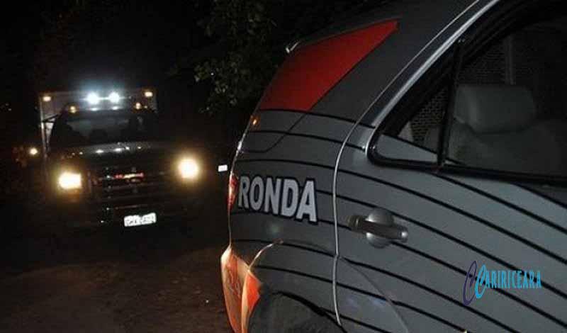 Homicídio a bala registrado na madrugada de hoje em Jardim e lesão corporal de natureza grave na noite de ontem em Crato