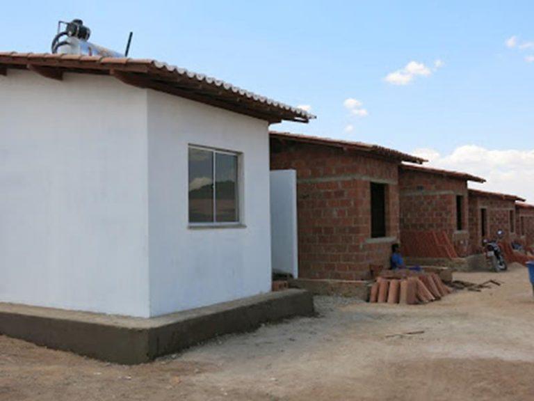 do Conjunto Habitacional Filemon Lima Verde do Programa Minha Casa Minha Vida em Crato FOTO ARQUIVO