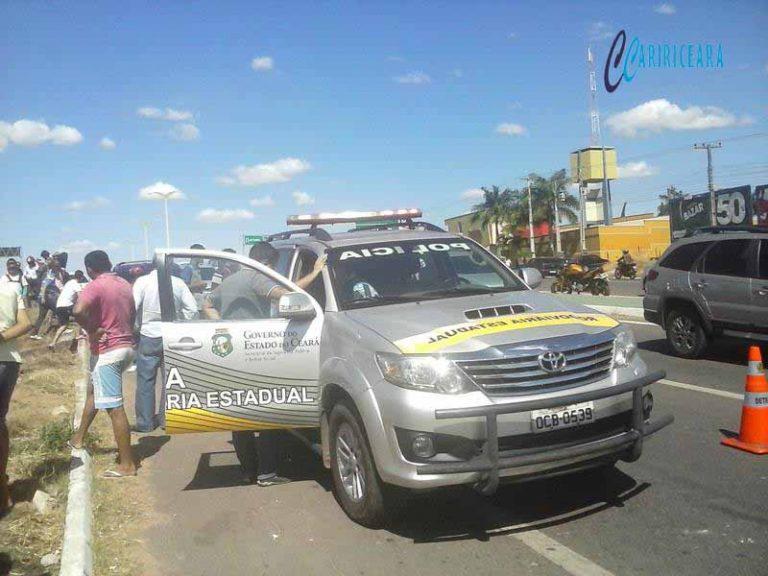 Polícia Rodoviária Estadual (PRE)registra redução de 19% em acidentes com vítimas fatais nas estradas cearenses em 2016. Foto_Jota Lopes_Agência Caririceara.com