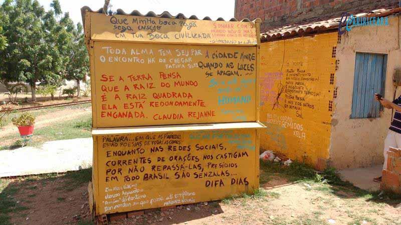 Projeto Higinoteca Comunidade do Gesso deverá ter 20 Pontos de Leitura  Foto João Vieira Agência Caririceara.com