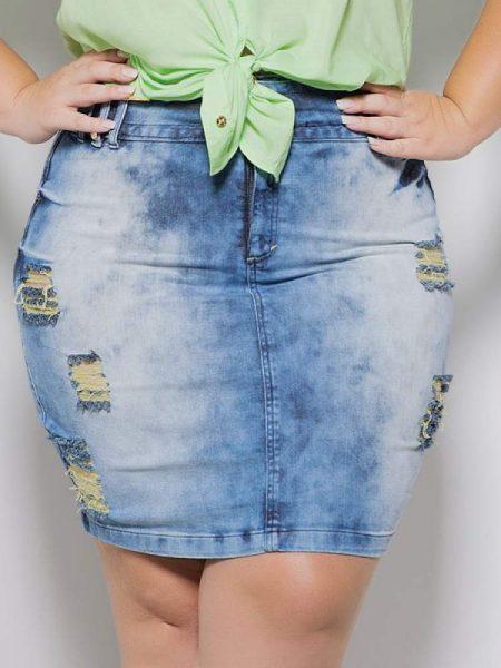 modelo-de-saia-jeans-para-gordinha 15
