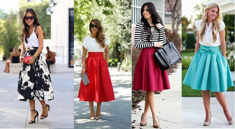 ce9ea237a 5 modelos de saia que toda mulher precisa ter - A informação que ...