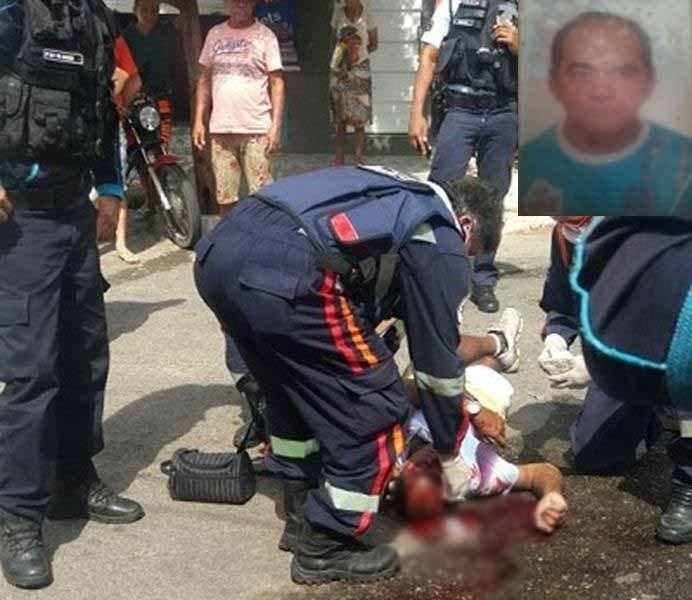 José Hamilton da Silva de 52 anos, executado à pauladas, bairro Tiradentes