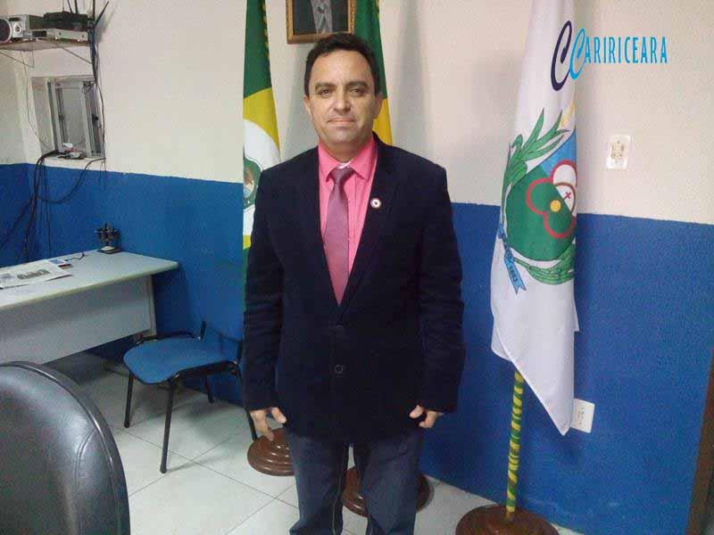 Vereador Pedro Lobo, do PT