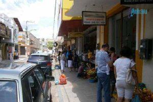 RUA SENADOR POMPEU, NO CENTRO DO CRATO. FOTO: JOTA LOPES/AGENCIA CARIRICEARA.COM