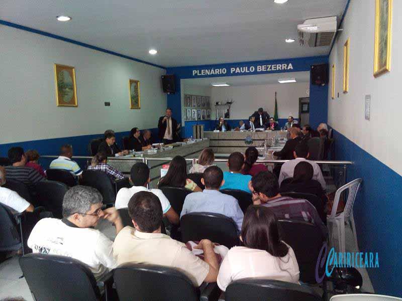 Câmara do Crato debate fluidez no trânsito no Município