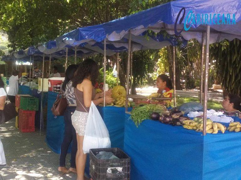Décima quinta edição da Feira Cariri Frutas foi aberta nesta sexta-feira em Crato
