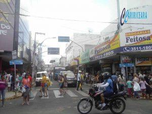 Rua São Pedro - Centro comercial de Juazeiro