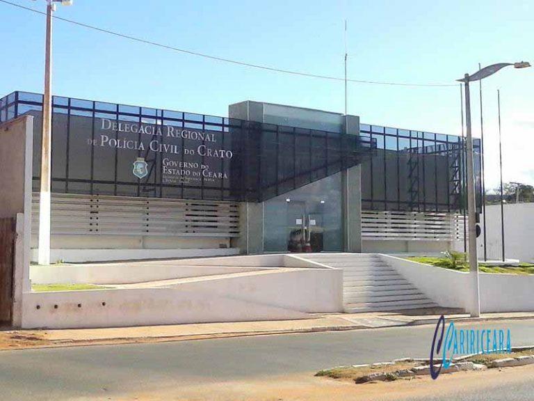 Dentista e PM conduzidos a Delegacia de Policia suspeitos de forjarem prisão de um individuo em Crato