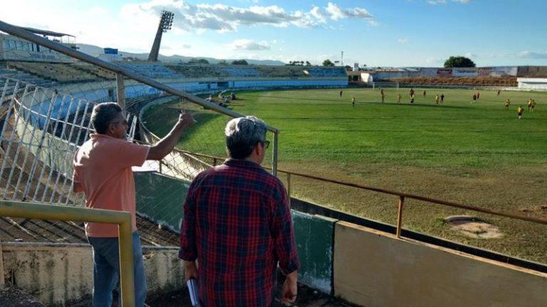 Estádio Mirandão, em Crato   será reformado para o Campeonato Cearense serie C