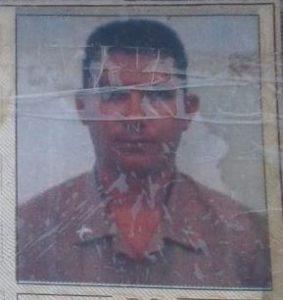 """Francisco Gonçalves da Silva Novais, 42 anos, o """"Cabo Chiquinho"""""""