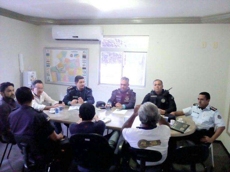 2º BPM e poder público municipal discutem estratégias de segurança para a vaquejada de Juazeiro do Norte
