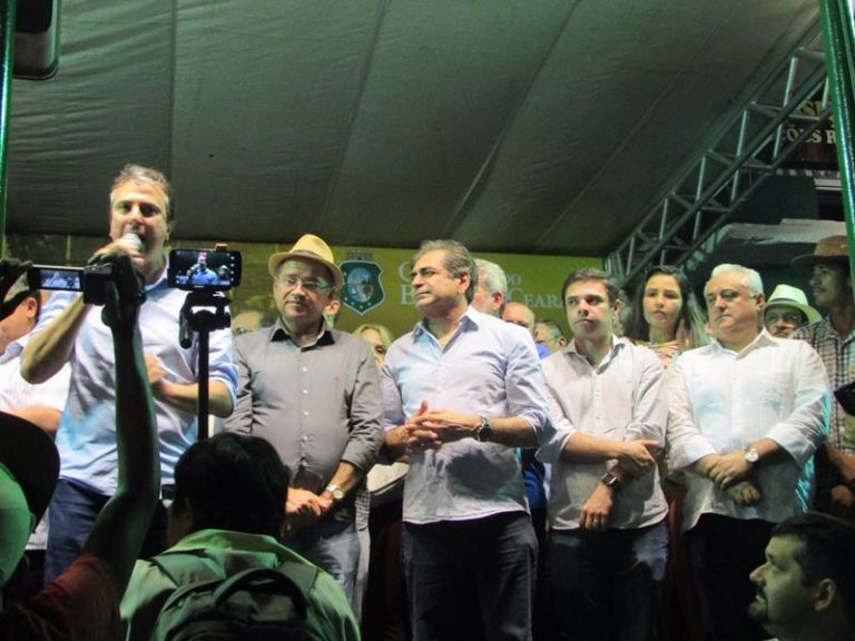Deputado Odorico Monteiro participa da abertura da 66ª Edição da Expocrato