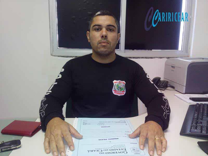 Delegado Municipal da Delegacia Regional de Polícia Civil do Crato, o Bacharel Luiz Eduardo