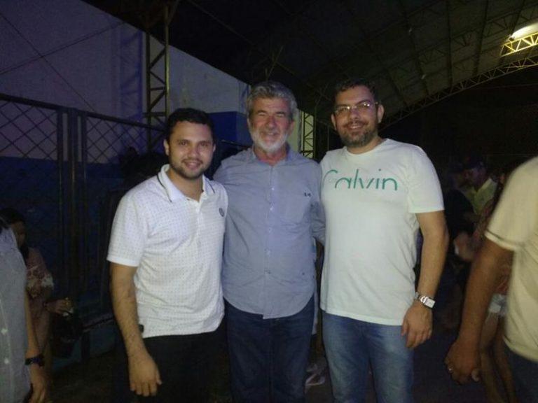 Rafael Branco e Arnon Bezerra festejam São Pedro