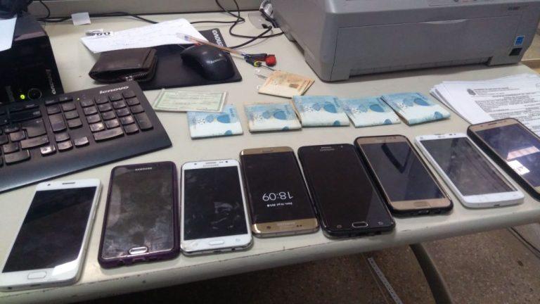 Policia civil do Crato prende dupla de receptadores de celulares roubados.