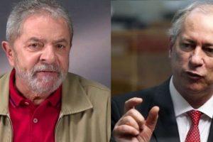 Ciro muda e agora diz que será candidato mesmo contra Lula
