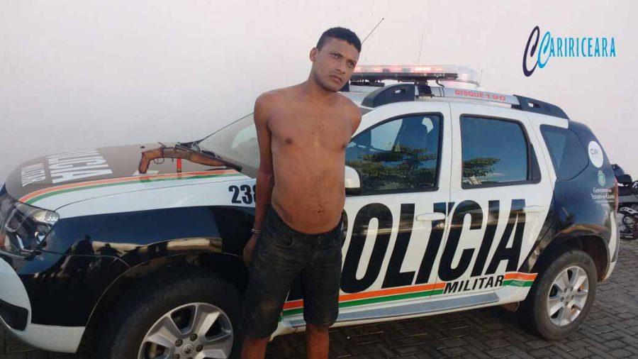 "Franciano Ribeiro Alves, 22 anos, o ""Isaac"" acusado de ser participe no homicídio de que foi vítima Marcos Antônio Batista de Lima, 16 anos"