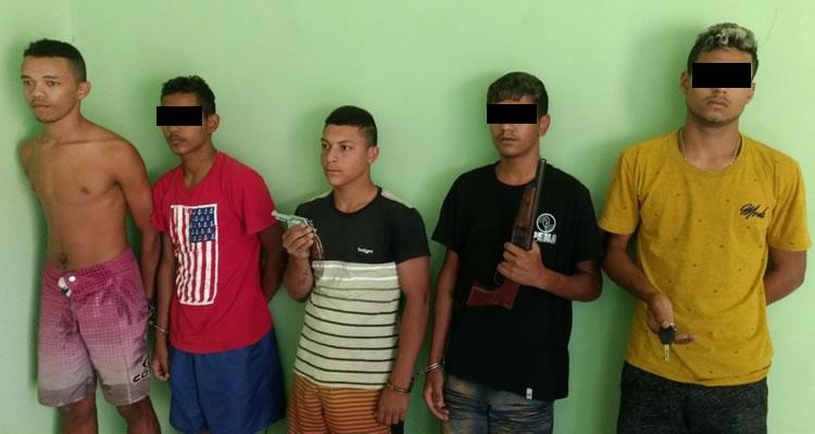 Policia militar de Juazeiro do Norte desarticula bando acusado de roubo de veículos
