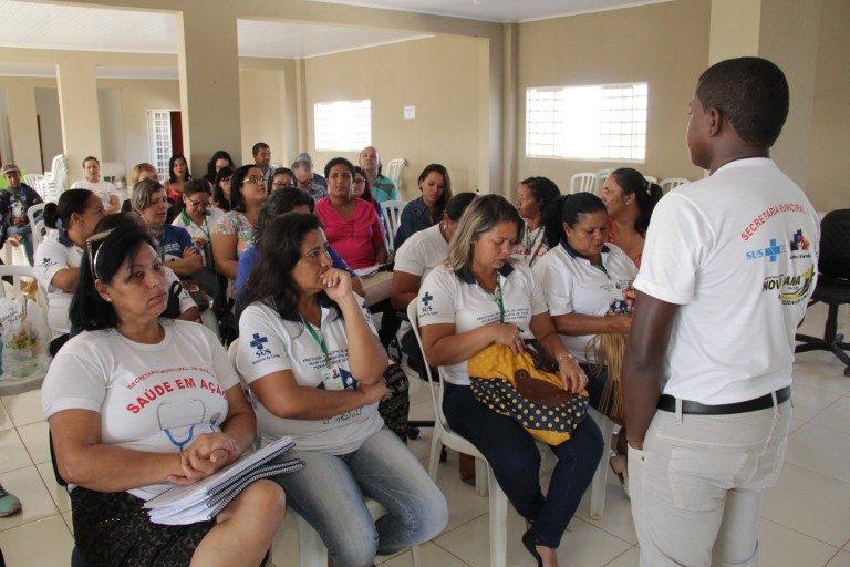 Em Crato no cariri e Aracati na região do Jaguaribe Saúde qualifica profissionais da atenção primária