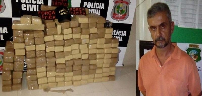 """""""OPERAÇÃO CANGAÇO"""" Quase 170 quilos de maconha é apreendida em Penaforte, no Ceará"""