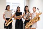 Quarteto de Saxofone Elas Sax se apresenta no Terça Musical em Juazeiro
