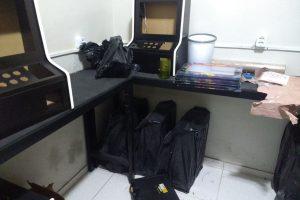 Operação da polícia civil contra jogos de azar em Juazeiro fecha fábrica de caça niqueis