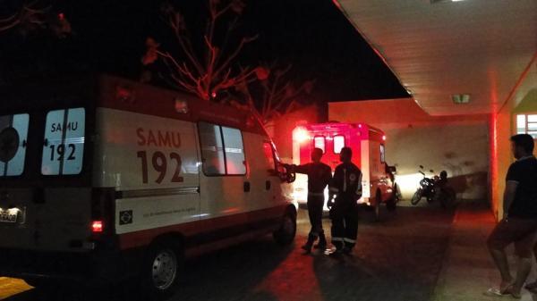 Dois homens foram vítimas de lesões corporais à bala em Crato