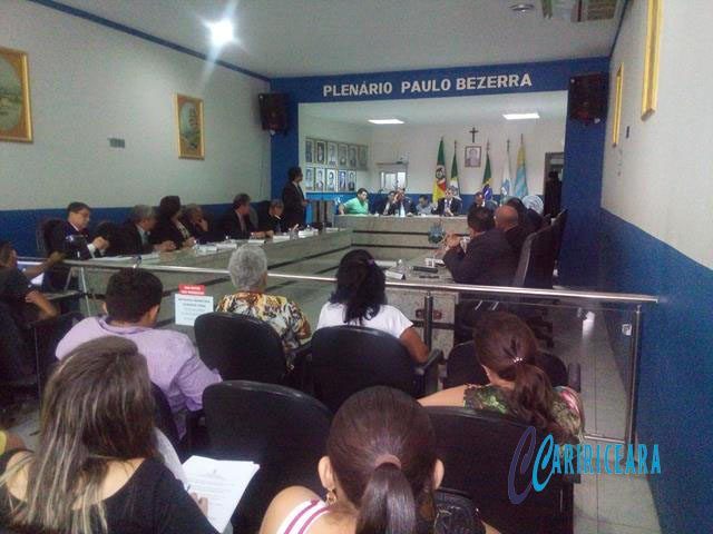 Audiência Pública da Câmara do Crato discute Concurso Público