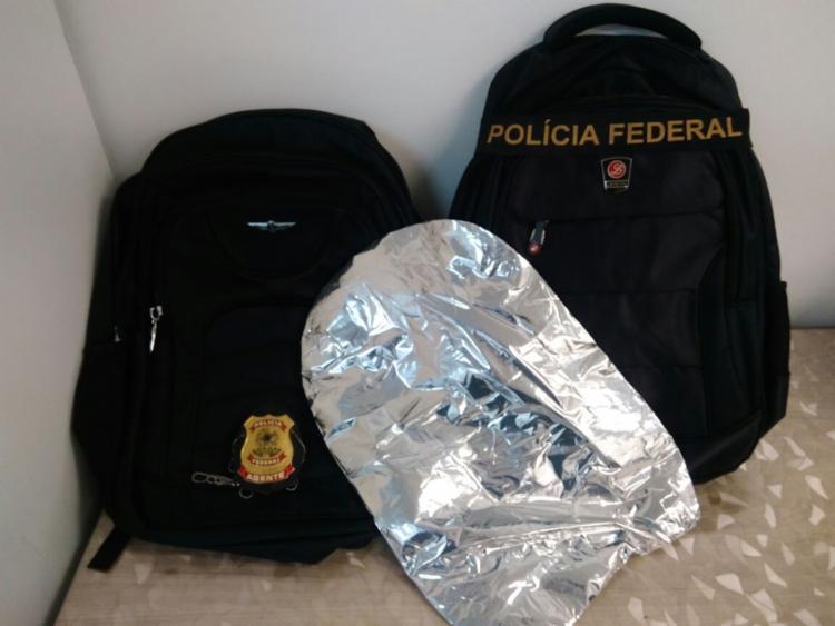 PF de Juazeiro flagra mulher com três quilos de cocaína no aeroporto