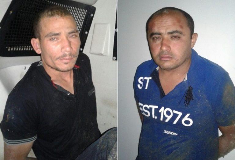 Quadrilha é presa pela Polícia Militar  acusada de ataque a banco no  cariri