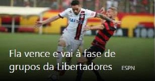 Flamengo vence com gol no fim e vai à fase de grupos da Libertadores; Vitória escapa do rebaixamento