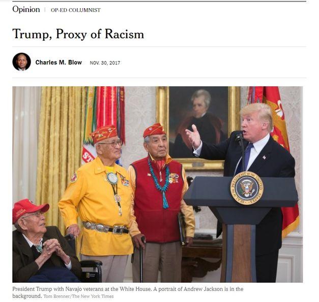 'New York Times': Donald Trump, o representante do racismo