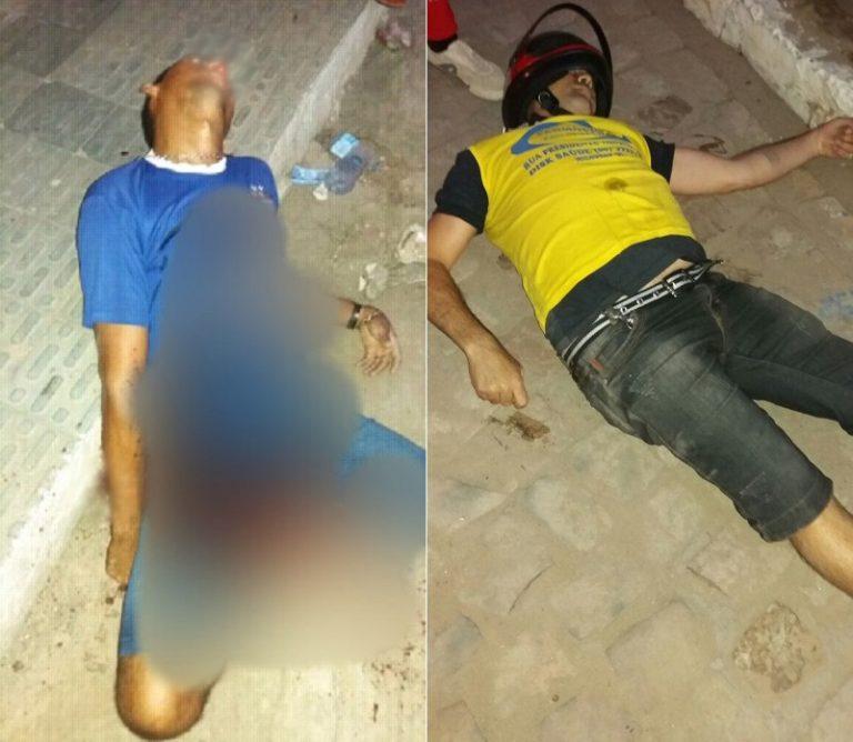 Duplo assassinato foi registrado em Milagres-CE no início da noite desta terça-feira, dia 09