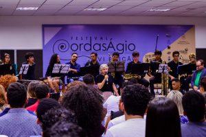 Em sua sexta edição, abertura do Festival Cordas Ágio encanta platéia no auditório da Vila da Música, em Crato