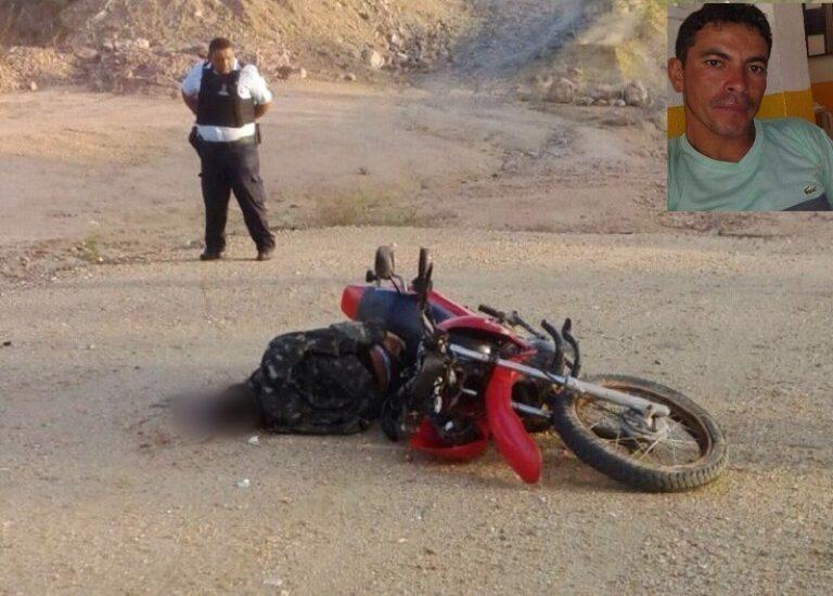 Queda de moto mata vendedor de crediário em Aurora