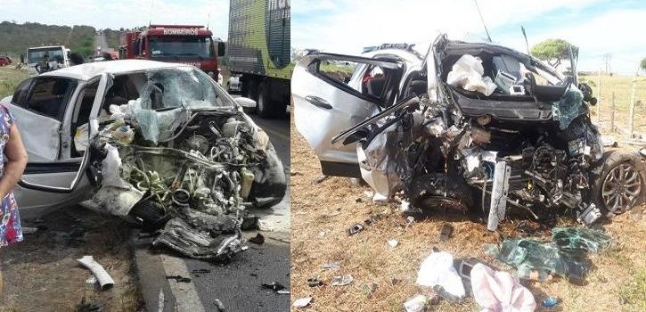 Radialista do Crato se envolve em acidente na BR-116 na Bahia em que quatro pessoas morreram; duas das vítimas eram tias do profissional do rádio